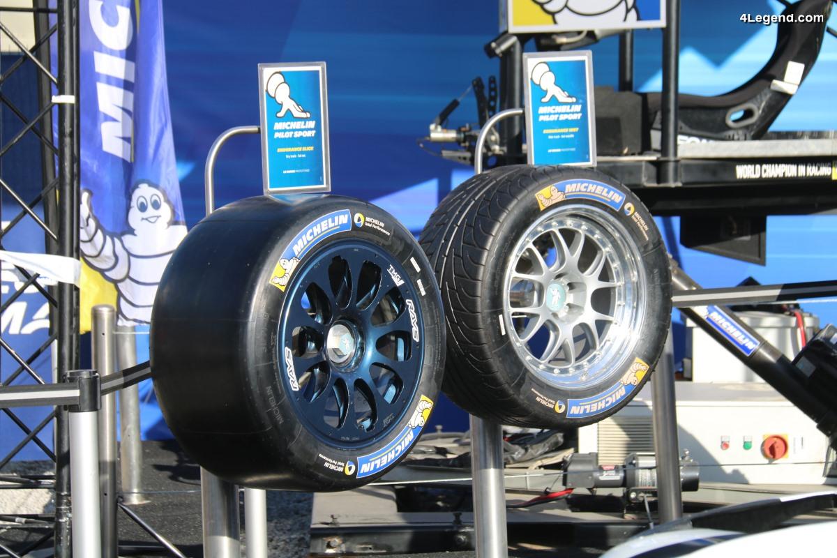 WEC - Michelin de retour en catégorie LMP2 avec une nouvelle famille de pneus