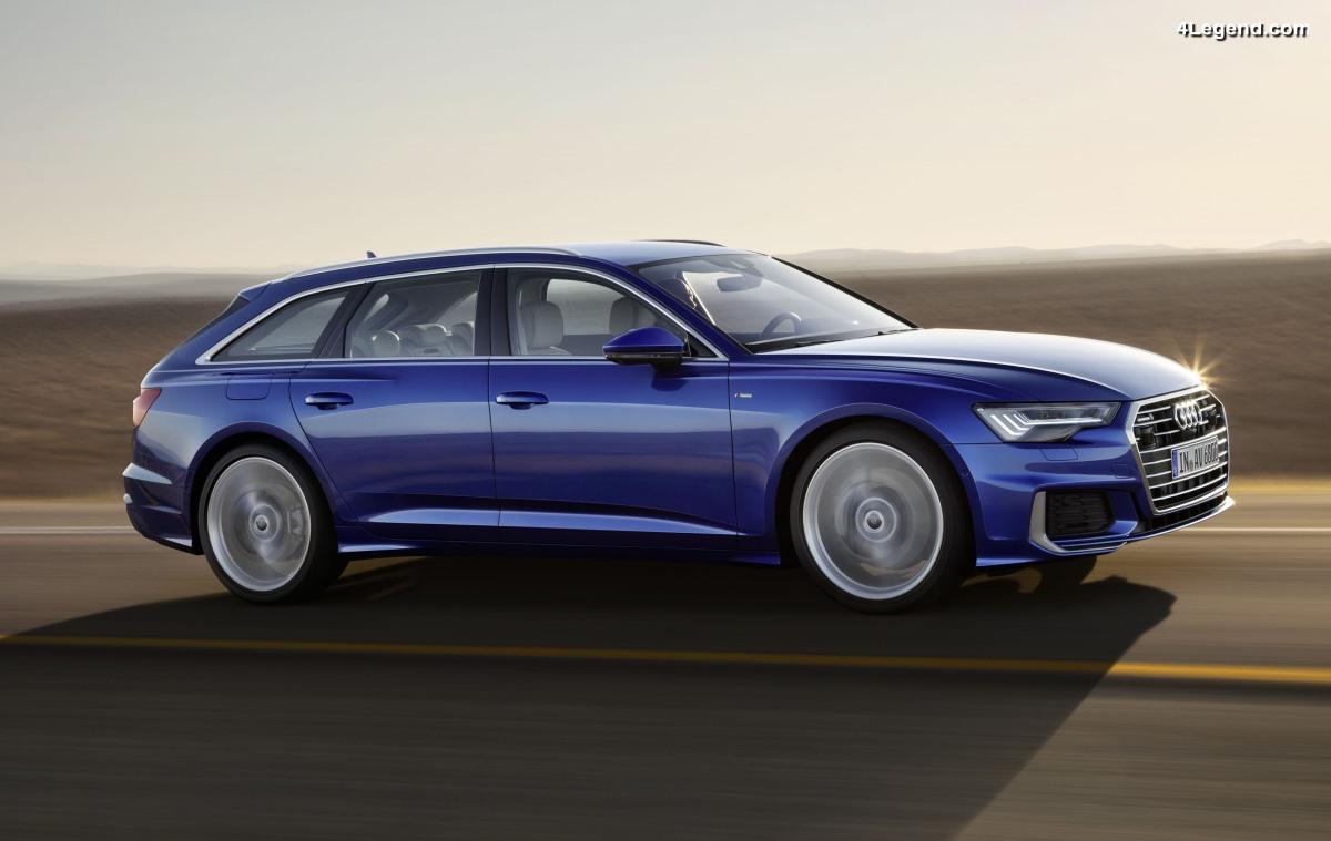 Nouvelle Audi A6 Avant - Avant-gardiste