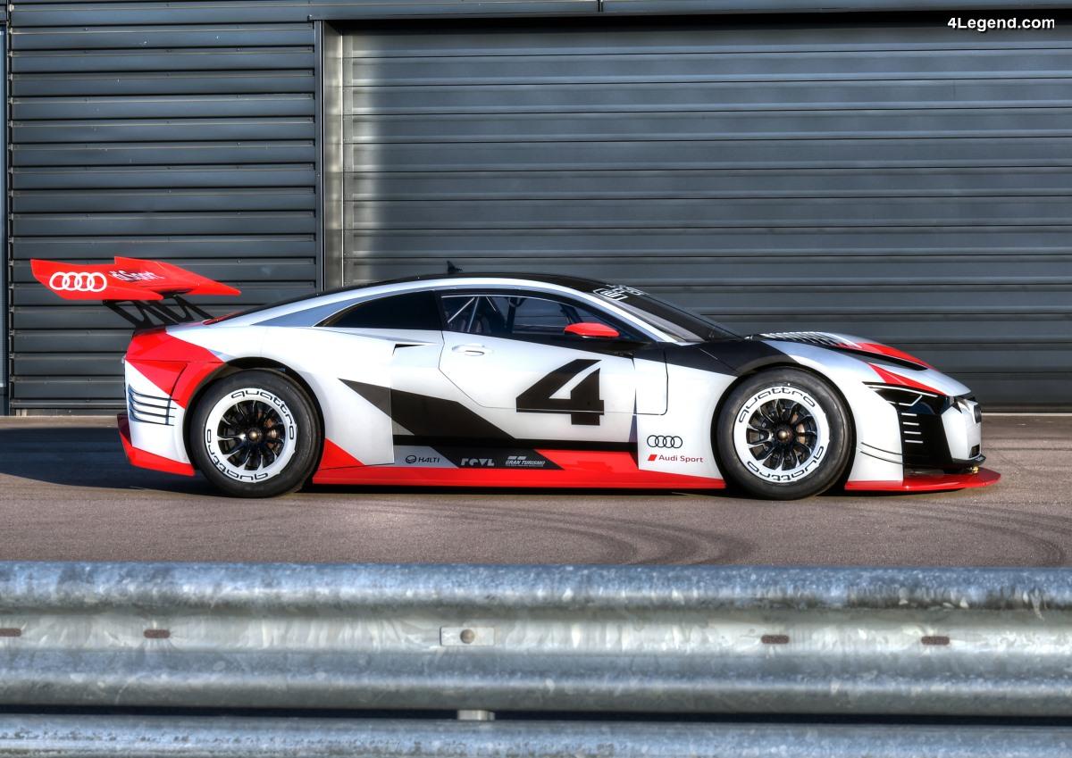 Audi e-tron Vision Gran Turismo - De la PlayStation au circuit de course