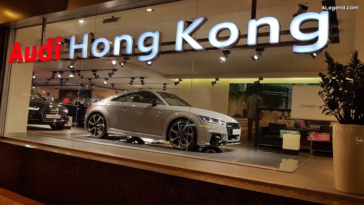 Visite du showroom Audi Hong Kong