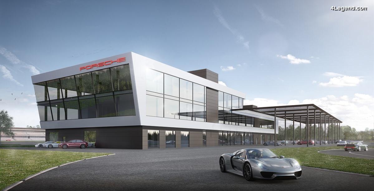 Un nouveau Porsche Experience Centre au Hockenheimring