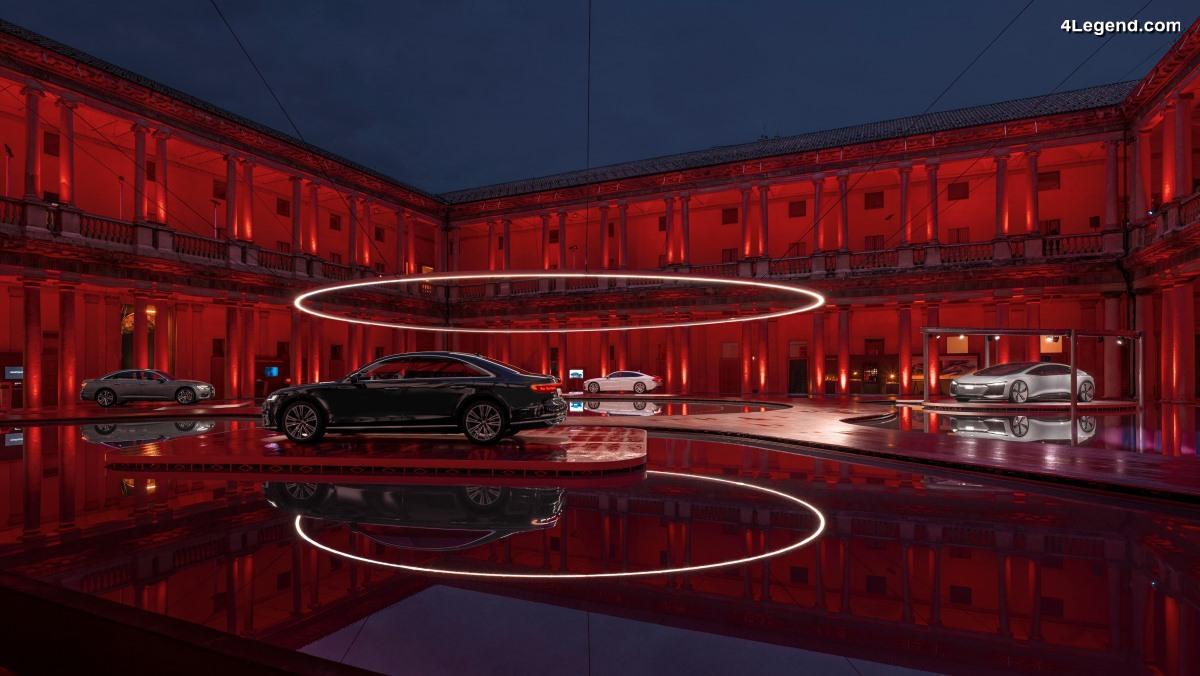 Audi présente l'installation