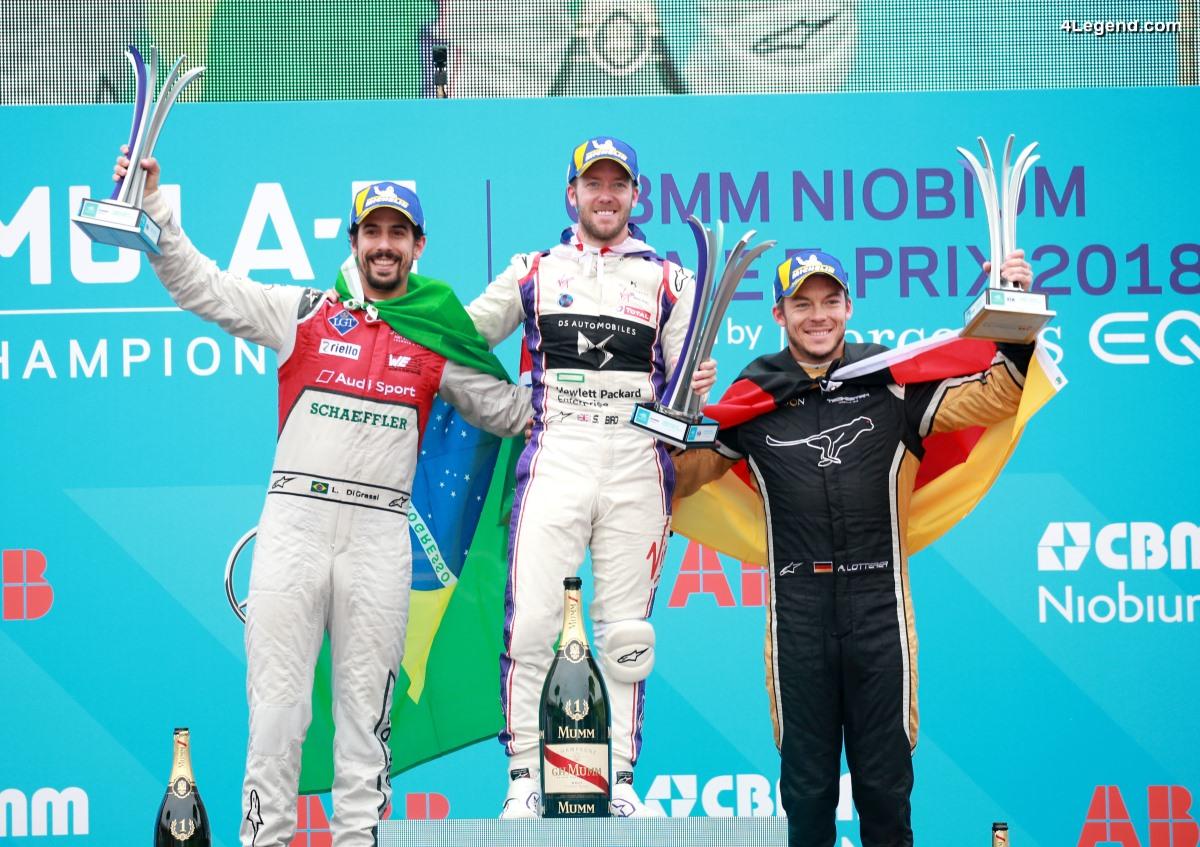 Formule E - Premier podium pour Audi à Rome & présentation de l'Audi e-tron Vision Gran Turismo