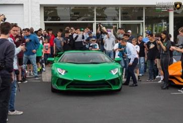 Lamborghini Aventador SV Miura SV Tribute de 2018 – Une Aventador SuperVeloce verte en hommage à la Miura SV verte châssis 4846