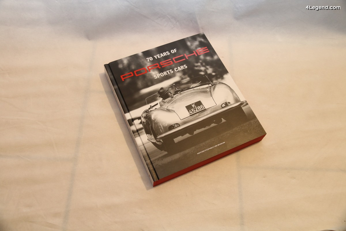 big livre 70 years of porsche sport cars edition porsche. Black Bedroom Furniture Sets. Home Design Ideas