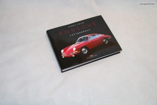 Livre «Porsche Luftgekühlt» de Dennis Adler – Delius Klasing