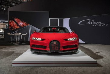 NYIAS 2018 –  La Bugatti Chiron Sport fait ses débuts en Amérique du Nord
