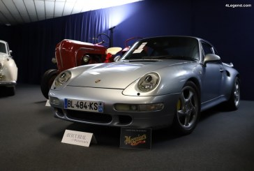 Porsche 911 Turbo Type 993 de 1998 avec option XLC de 450 ch
