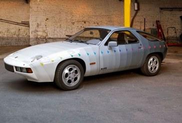 Porsche 928 «Bemalter Porsche» de 1984 par Heinz Mack