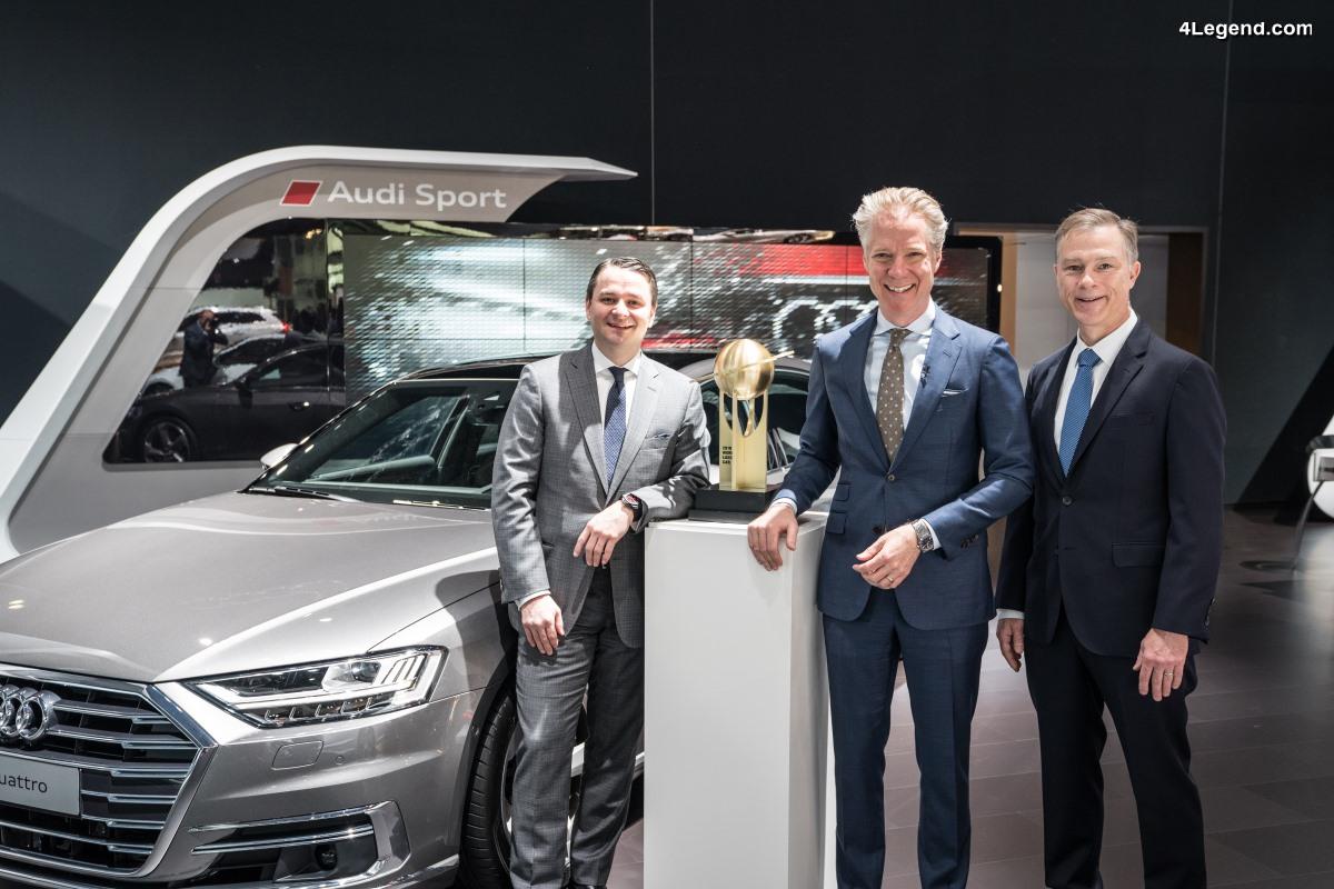 L'Audi A8 élue