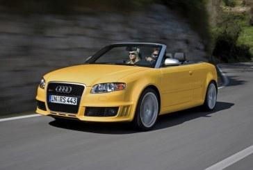 Retour de l'Audi A4 Cabriolet suite à l'abandon des Audi TT Roadster, A5 Cabriolet et A3 Cabriolet