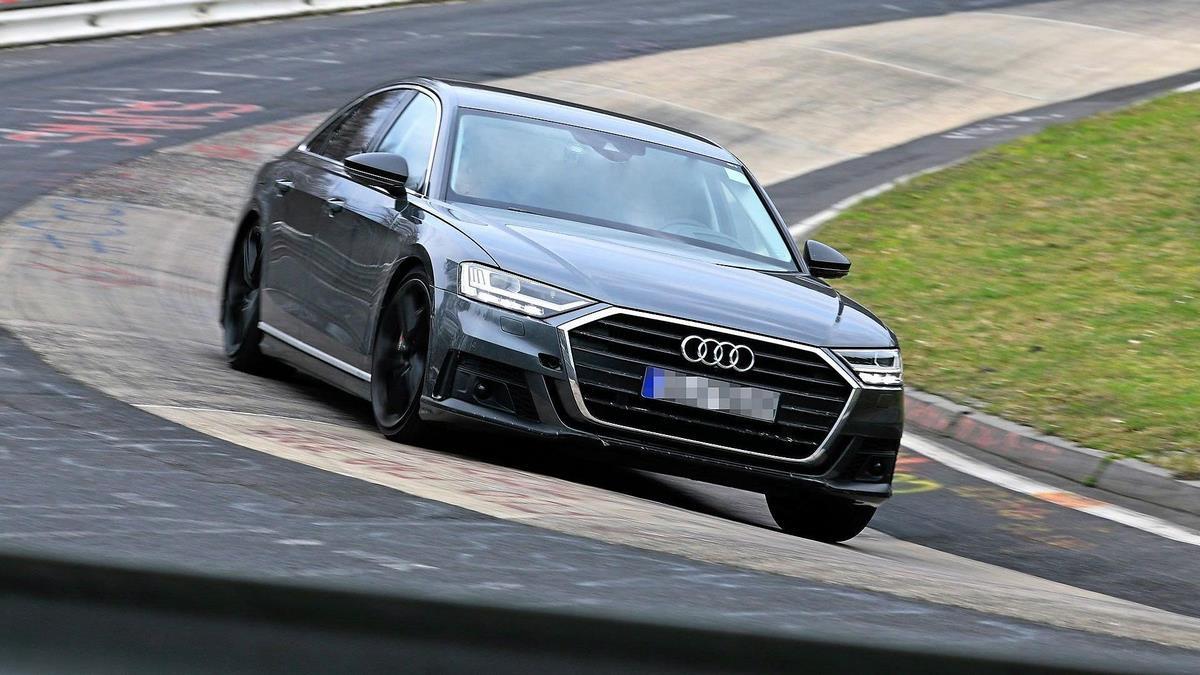 Spyshots Audi S8 2019 - Bienvenue au V8 biturbo hybride