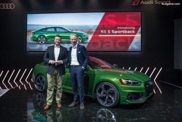 NYIAS 2018 – Le plein de nouveautés Audi à New York dont la nouvelle Audi RS 5 Sportback