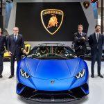 Lamborghini au salon automobile de Pékin 2018