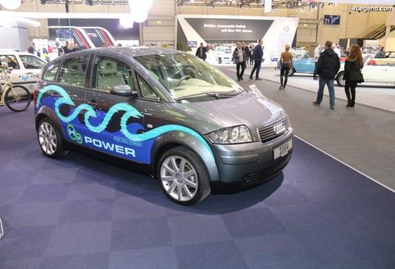TCE 2018 – Audi A2H2 concept de 2004 : une voiture hybride à Hydrogène à la fois durable et sportive