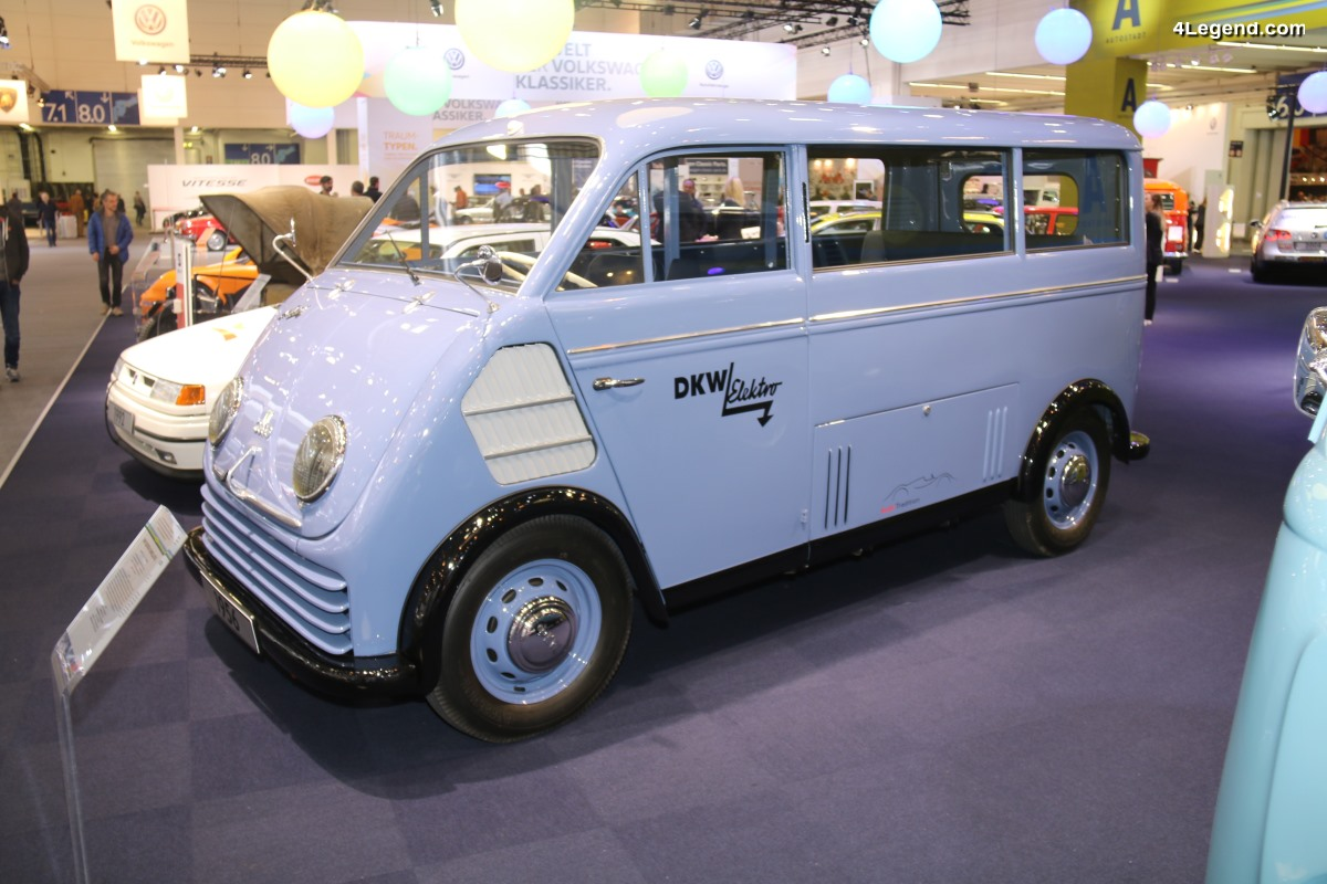 TCE 2018 - DKW Elektro Schnellaster de 1956 - Un petit utilitaire électrique ouvrant la voie à Audi
