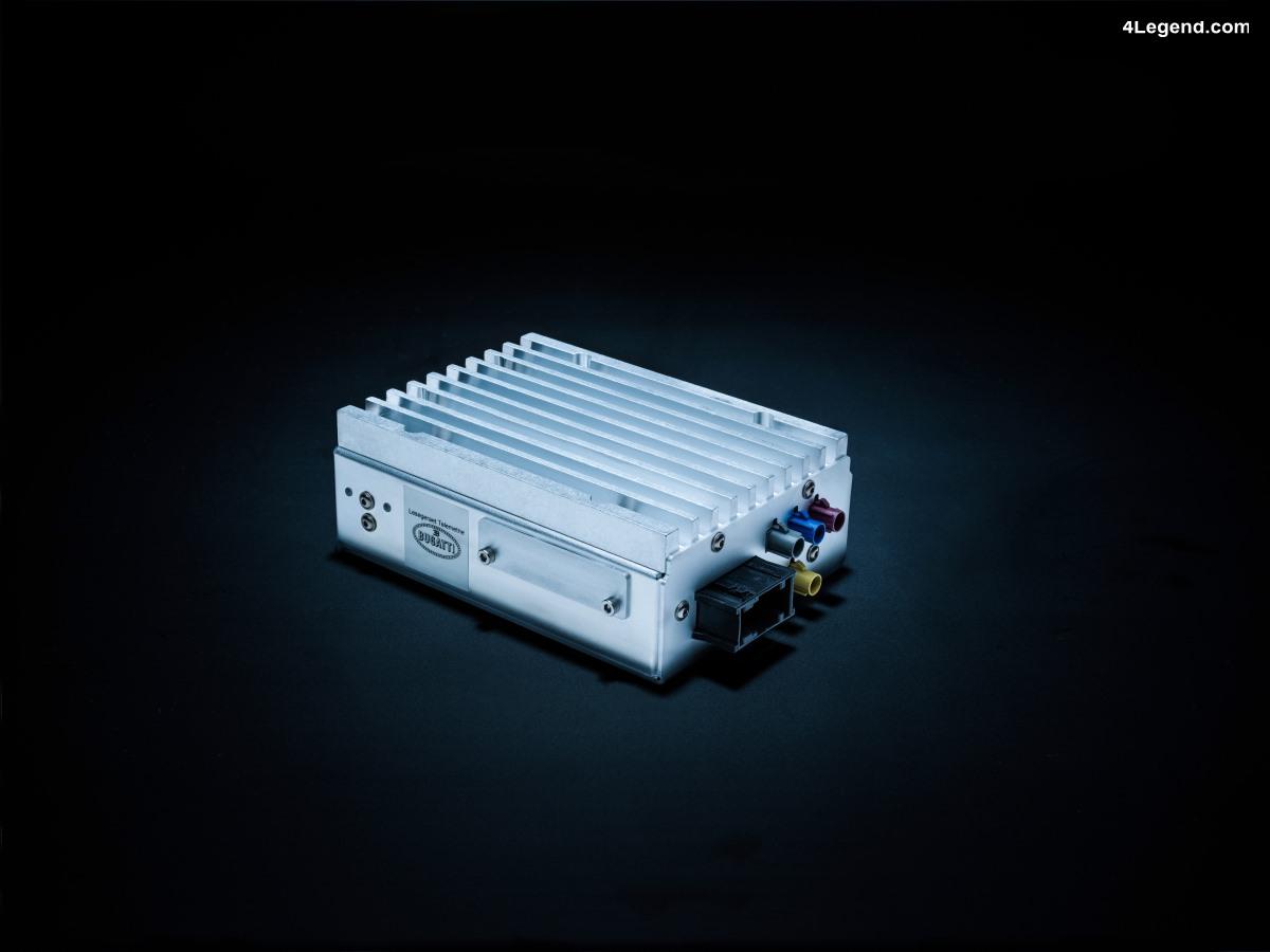 La Bugatti Chiron est une voiture connectée - un système de télémétrie unique pour un service de conciergerie exclusif