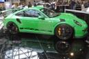 Top Marques 2018 – Porsche 911 GT3 RS avec ligne d'échappement Akrapovic Evolution Race Line (Titanium) RS