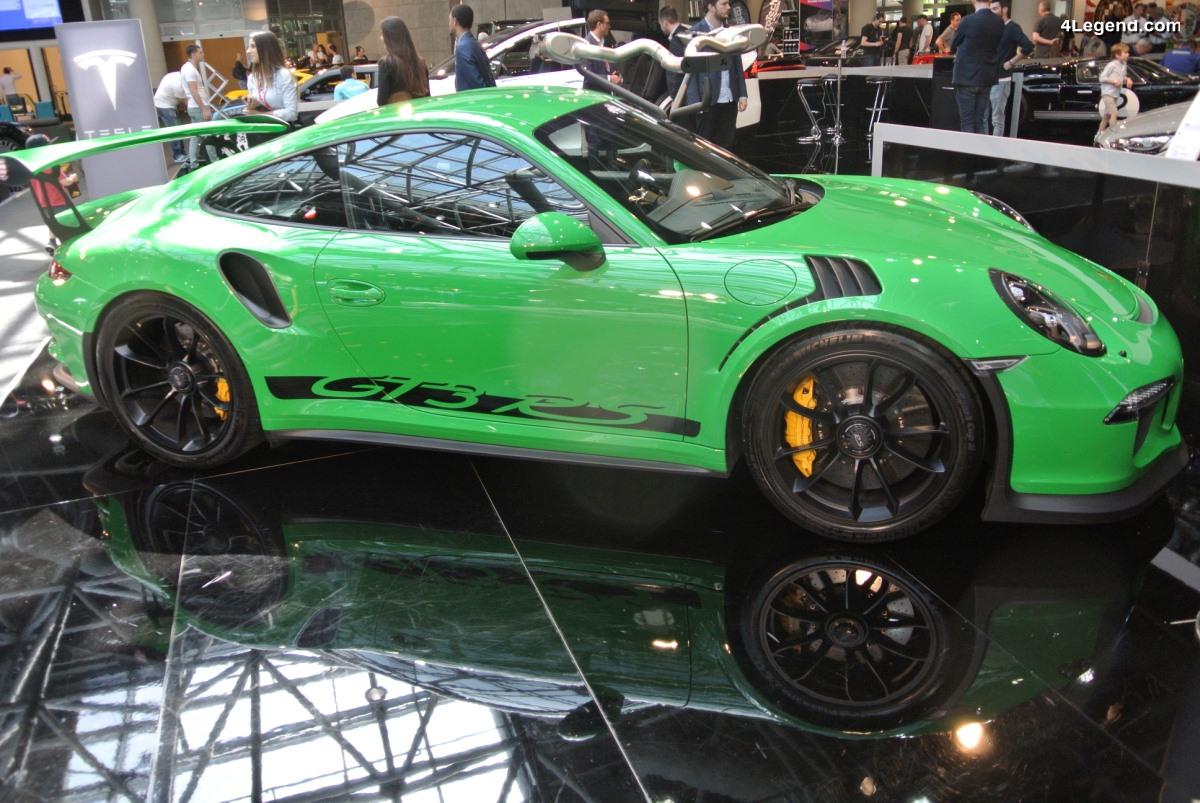 Top Marques 2018 - Porsche 911 GT3 RS avec ligne d'échappement Akrapovic Evolution Race Line (Titanium) RS