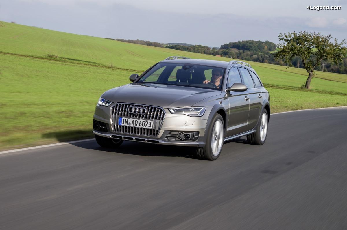 L'Audi A6 allroad quattro plébiscitée au sondage