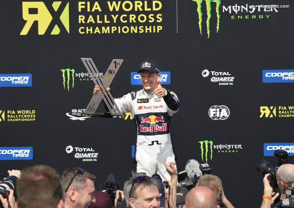 World RX - Podium pour EKS Audi Sport lors de la 1ère manche à Barcelone