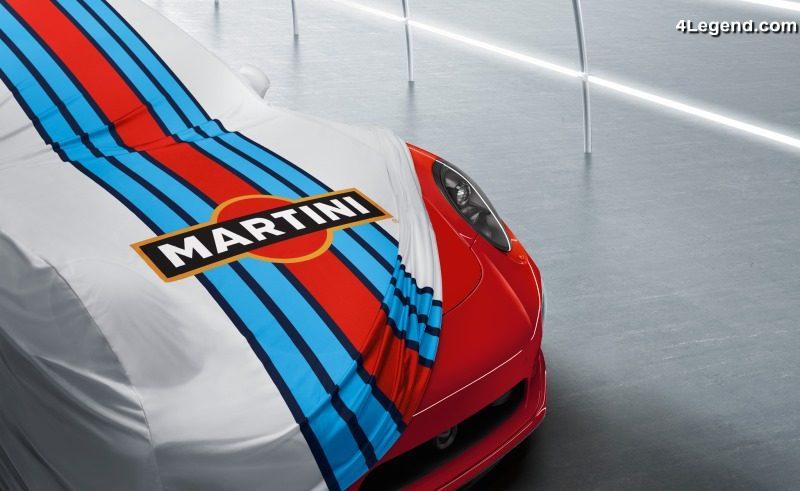Porsche Propose En Accessoire La D 233 Coration Martini Racing