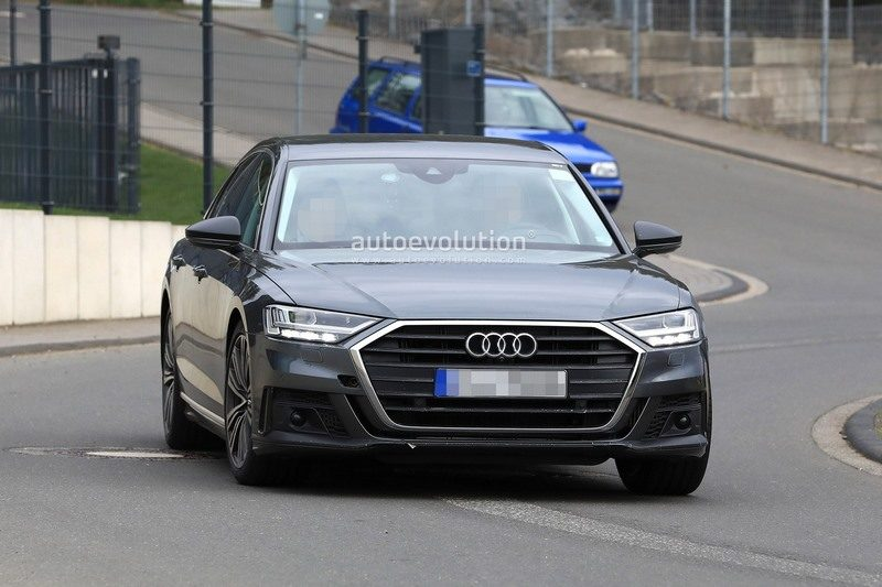 spyshots audi s8 2019 bienvenue au v8 biturbo hybride. Black Bedroom Furniture Sets. Home Design Ideas