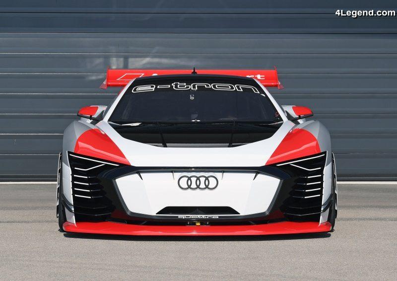 Audi e tron vision gran turismo de la playstation au for Buer dans les fenetre