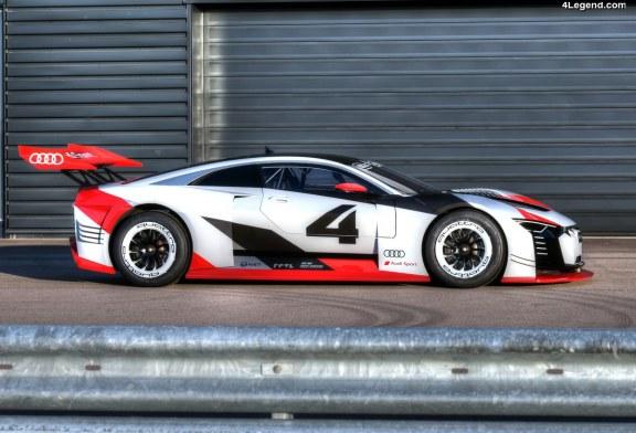 Audi e-tron Vision Gran Turismo – De la PlayStation au circuit de course