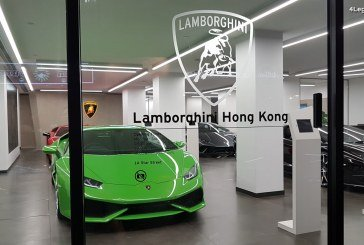 Visite exclusive du nouveau showroom Lamborghini Hong Kong