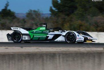 Formule E – Essais de la nouvelle Audi e-tron FE05 avec Daniel Abt au volant à Calafat