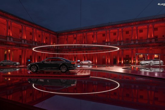 Audi présente l'installation « Fifth Ring » à la Milan Design Week 2018