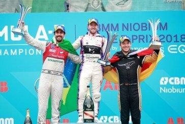Formule E – Premier podium pour Audi à Rome & présentation de l'Audi e-tron Vision Gran Turismo