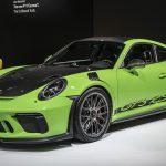 NYIAS 2018 – Nouveau Pack Weissach pour la Porsche 911 GT3 RS – Un gain de 18 kg grâce au carbone