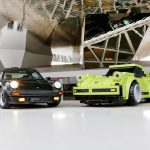 Une Porsche 911 Turbo LEGO à l'échelle 1:1 au Porsche Museum