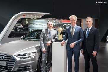 L'Audi A8 élue «World Luxury Car 2018» aux World Car Awards