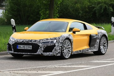 Spyshots Audi R8 V10 facelift 2019