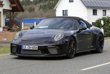 Spyshots de la future Porsche 911 Speedster Type 991 – Une 911 GT3 Cabriolet?