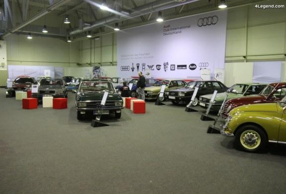 TCE 2018 – Exposition de nombreuses Audi, Auto Union, DKW et NSU sur le stand de l'Audi Club International