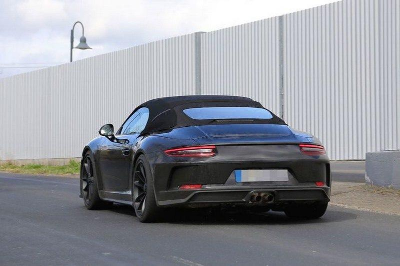 Spyshots de la future porsche 911 speedster type 991 une for Cultiver des autoflo en interieur