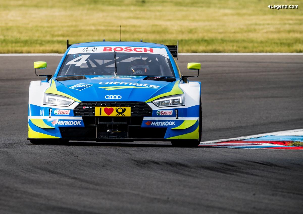 DTM - De mauvaises courses pour Audi au Lausitzring 2018 : Jamie Green à la sixième place et accident de René Rast