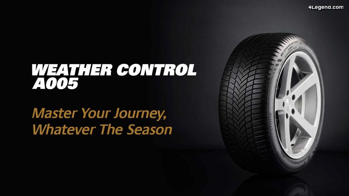 Bridgestone Weather Control A005 - Bridgestone lance son premier pneu toutes saisons
