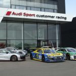 Audi Sport customer racing fête ses 10 ans