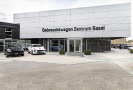 Le premier Centre Porsche de voitures d'occasion de Suisse ouvre à Frenkendorf (Bâle)