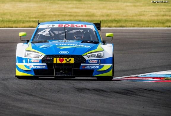 DTM – De mauvaises courses pour Audi au Lausitzring 2018 : Jamie Green à la sixième place et accident de René Rast