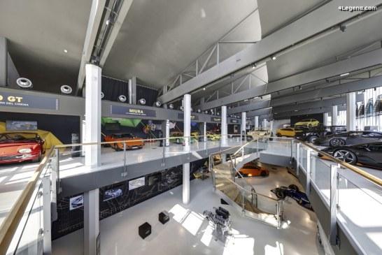 Exposition «Film Emotions – Lamborghini et le monde du cinéma» au musée de Sant'Agata Bolognese
