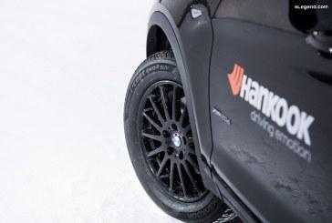 Les pneus Hankook Ventus S1 evo² SUV et Winter i*cept evo² SUV en première monte sur le BMW X3