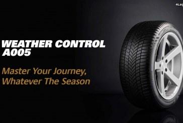Bridgestone Weather Control A005 – Bridgestone lance son premier pneu toutes saisons