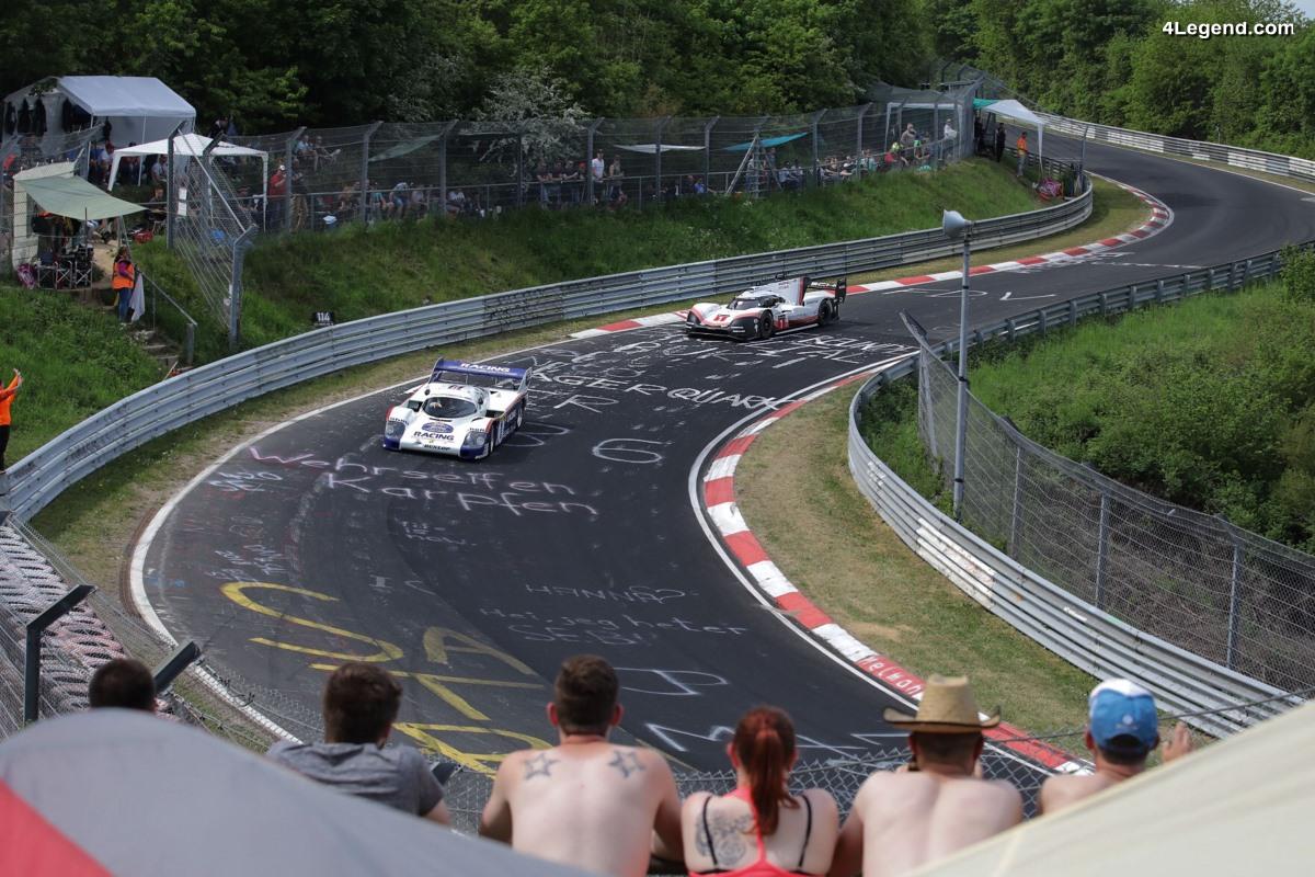 919 Tribute Tour - Tour d'honneur des Porsche 919 Hybrid Evo et 956 C sur la Nordschleife du Nürburgring
