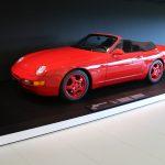 Porsche 968 CS Cabriolet Studie de 1993 – Un modèle unique